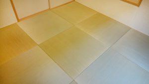和室4.5畳のリフォーム(琉球畳)